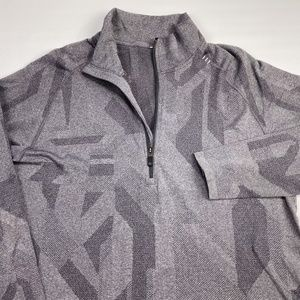 Lululemon Men's Long Sleeve 1/4 Zip Pullover Sz XL